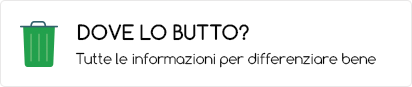 Dove lo butto? Tutte le info per differenziare bene